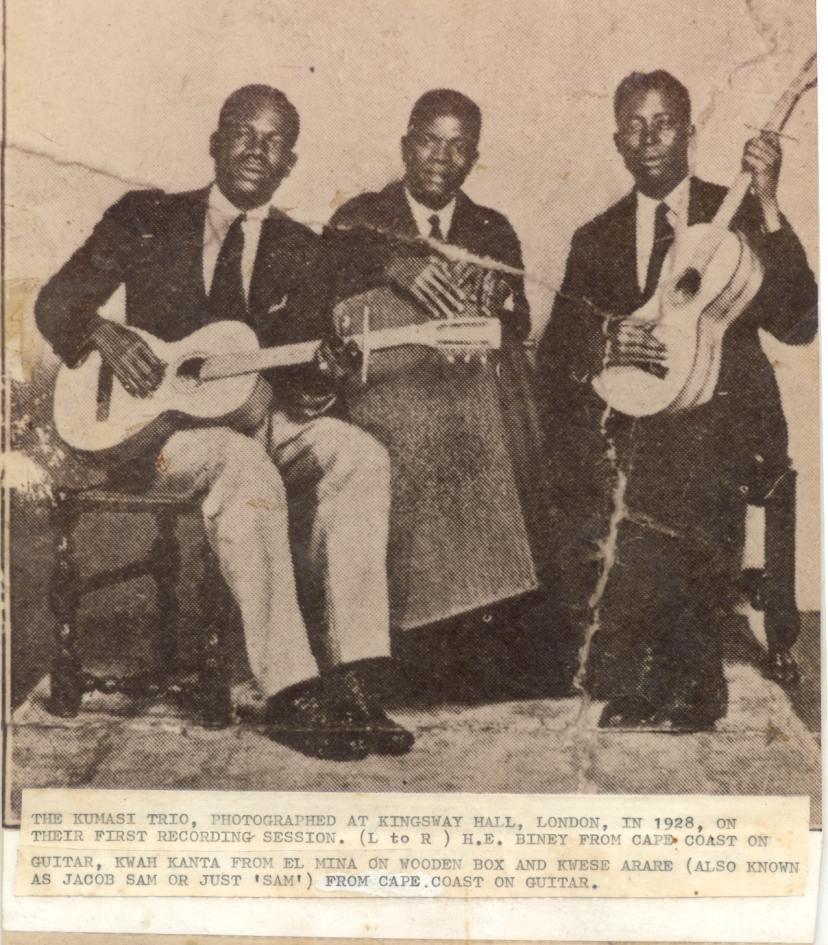 PALMWINE Jacob Sam (right) and Kumasi Trio 1928.jpg
