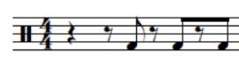 Triple-offbeat